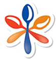 Beksul's new modern style logo which looks like three spoons