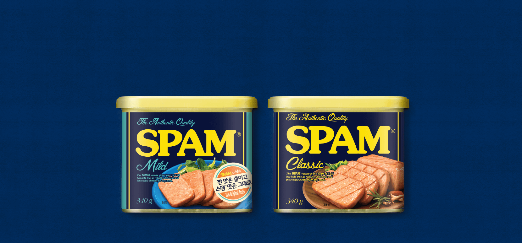 SPAM®is genuine, of course