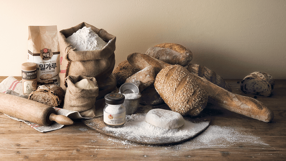 Endless innovations for making bread with good ingredients.