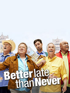 "NBC ""Better Late Than Never"", an adaptation of the popular Korean ""Grandpas Over Flowers"" is off to a good start!"