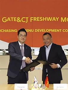 CJ Freshway to Distribute Food Ingredients