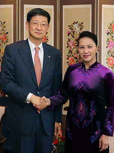 Chairperson of the National Assembly of Vietnam claims to be fully aware of CJ's entry in Vietnam