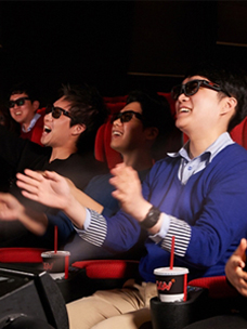 CGV 4DX is proving to be a success throughout the world!