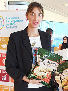 The Association for Supporting the SDGs for the UN exhibited global sustainable company models as well as the cases of the world''s sustainability leaders on the first floor of the UN headquarters, and officials who visited CJ CheilJedang''s booth showed great interest in bibigo''s dumplings