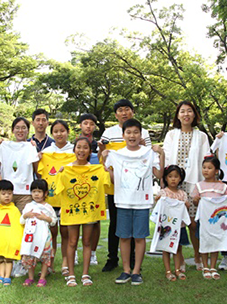 CJ ENM O Shopping Division Participates in the 'Hope T Campaign' to Support Climate Refugee Children