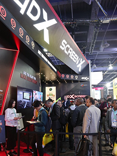 CJ 4DPLEX Achieves Success at CES 2020