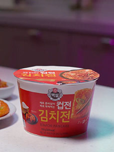 [Beksul] A late-night snack in just one cup! Beksul Cupjeon