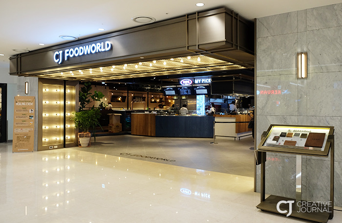 Grand opening of CJ Foodworld COEX Mall on July 5