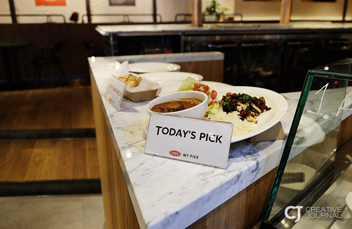 If you cannot make a decision easily, just go to Today's Pick recommended by chefs