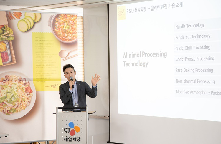 Hyun-seok Na talks about the core R&D competence of meal kit COOKIT