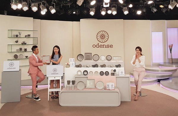 odense recording studio of Eastern Home Shopping in Taiwan