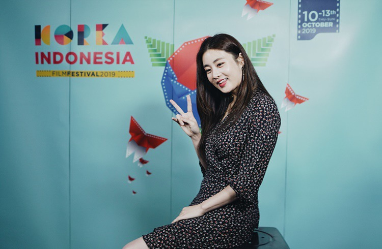 '10th Korea Indonesia Film Festival' honorary ambassador, actress Kang So-Ra