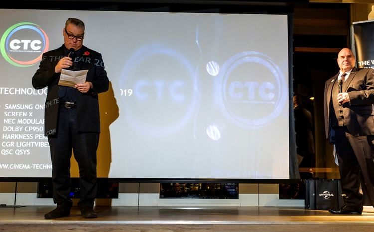 Presenters at CTC Awards, which took place in London, UK on the 11th.