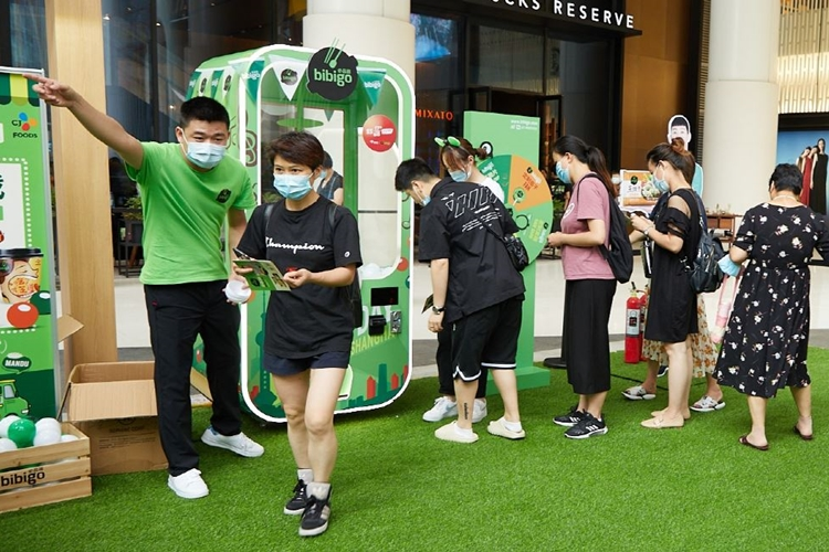 In June, CJCheilJedang held an offline event to promote brand awareness.