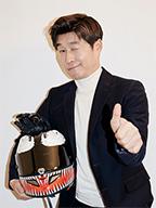 Sang-joong Kim,<br>Life is an ongoing challenge!