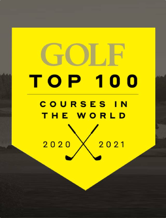 Golf Magazine's Top 100 courses in the world