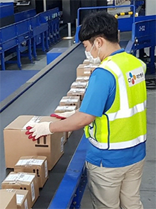 CJ Logistics' delivery of overseas direct purchases grows 2.5 times with 6.53 million boxes delivered in 1st Half of the year
